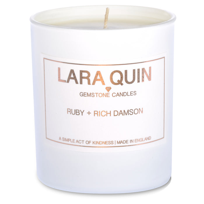 Luxury candles | Damson | Lara Quin | 2