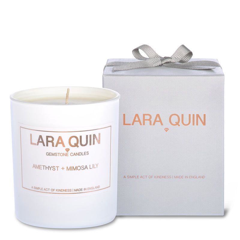 Luxury candles | Mimosa | Lara Quin | 1