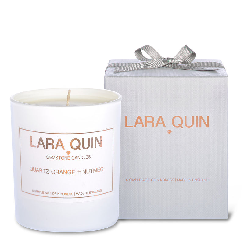 Luxury candles | Orange | Lara Quin | 1