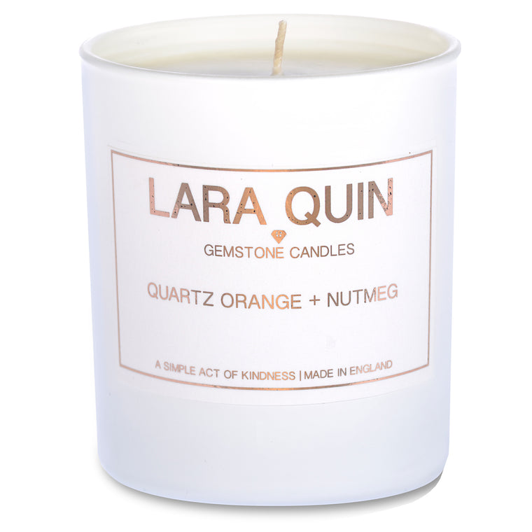 Quartz Orange + Nutmeg | Luxury Candles