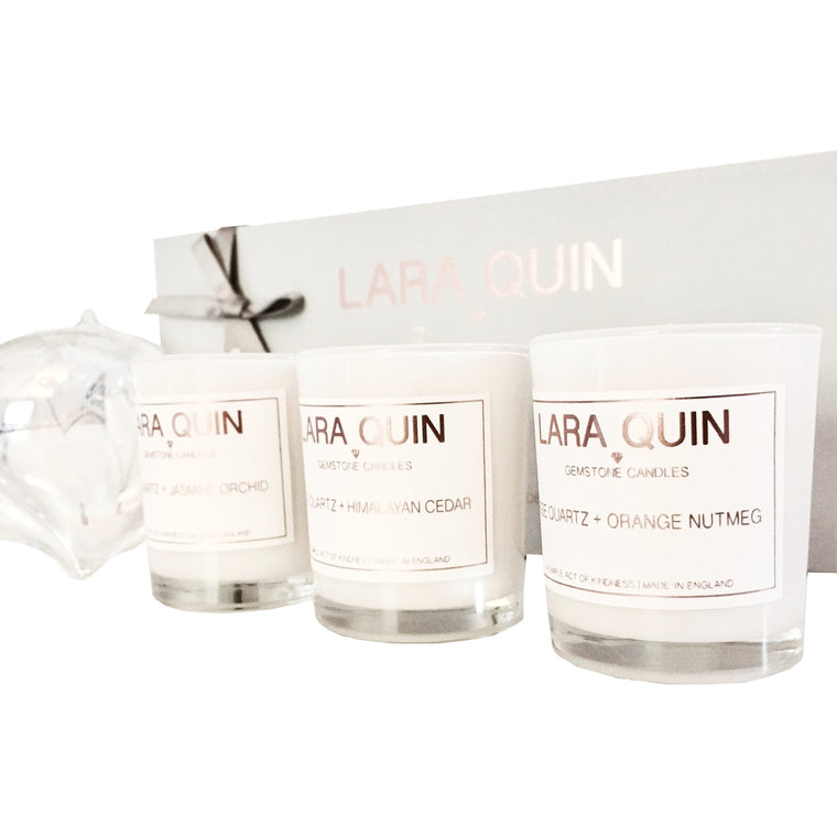 Votive candles | Candle gift set | Lara Quin | 4