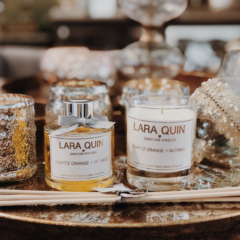 Candle Gift Sets | Quartz Orange + Nutmeg