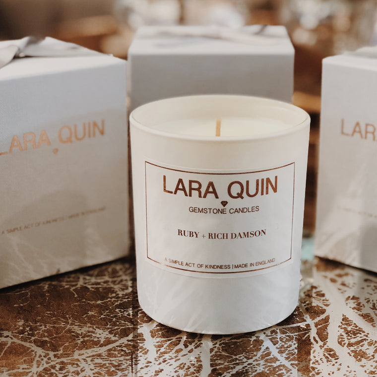 Ruby + Rich Damson | Luxury Candles