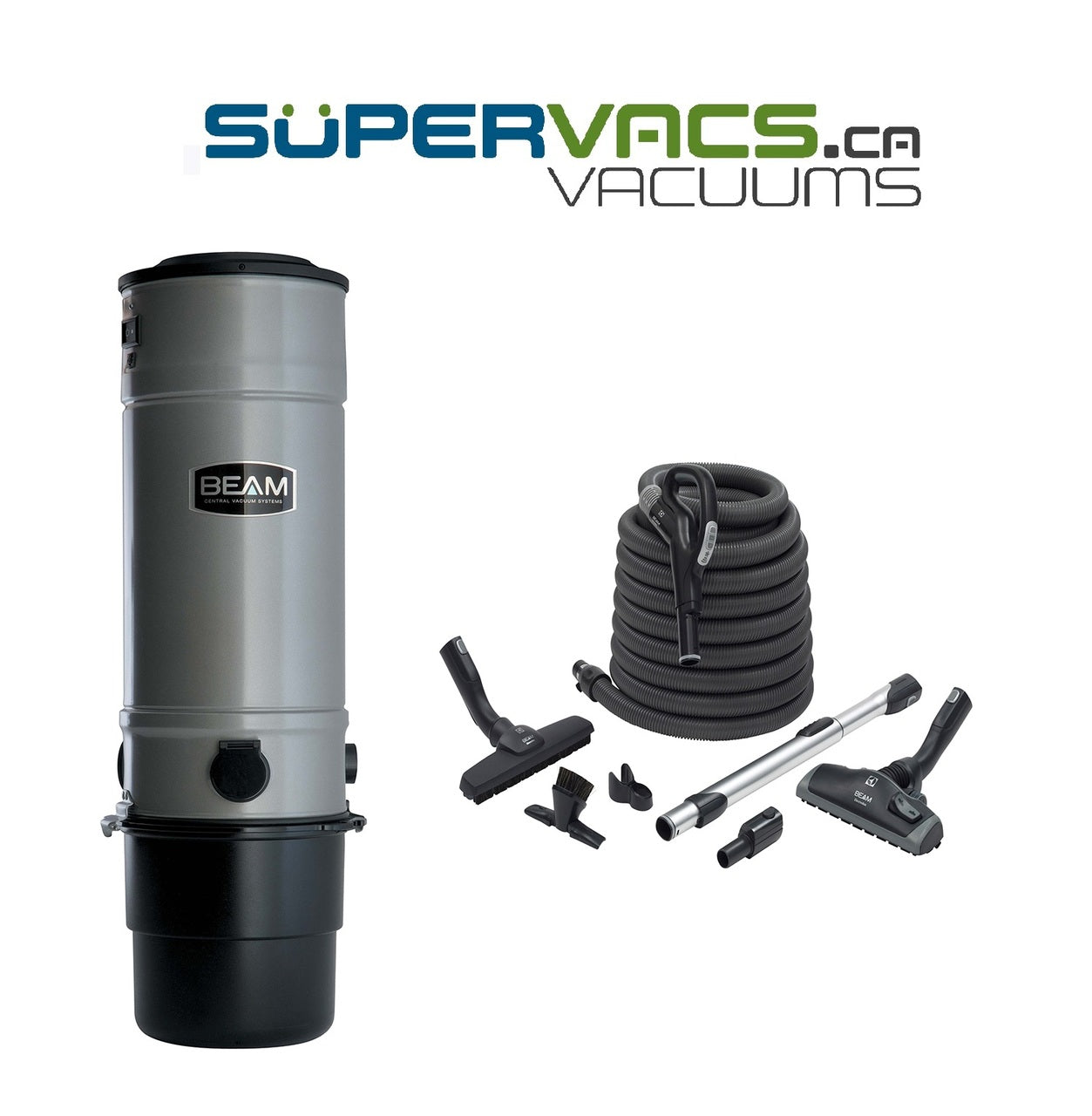 Beam Classic SC275 with premium bare floor attachment kit - Super Vacs