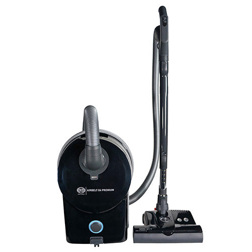 SEBO Airbelt D4 Premium - Canister Vacuum Cleaner with ET-1 power head 12″ - Super Vacs