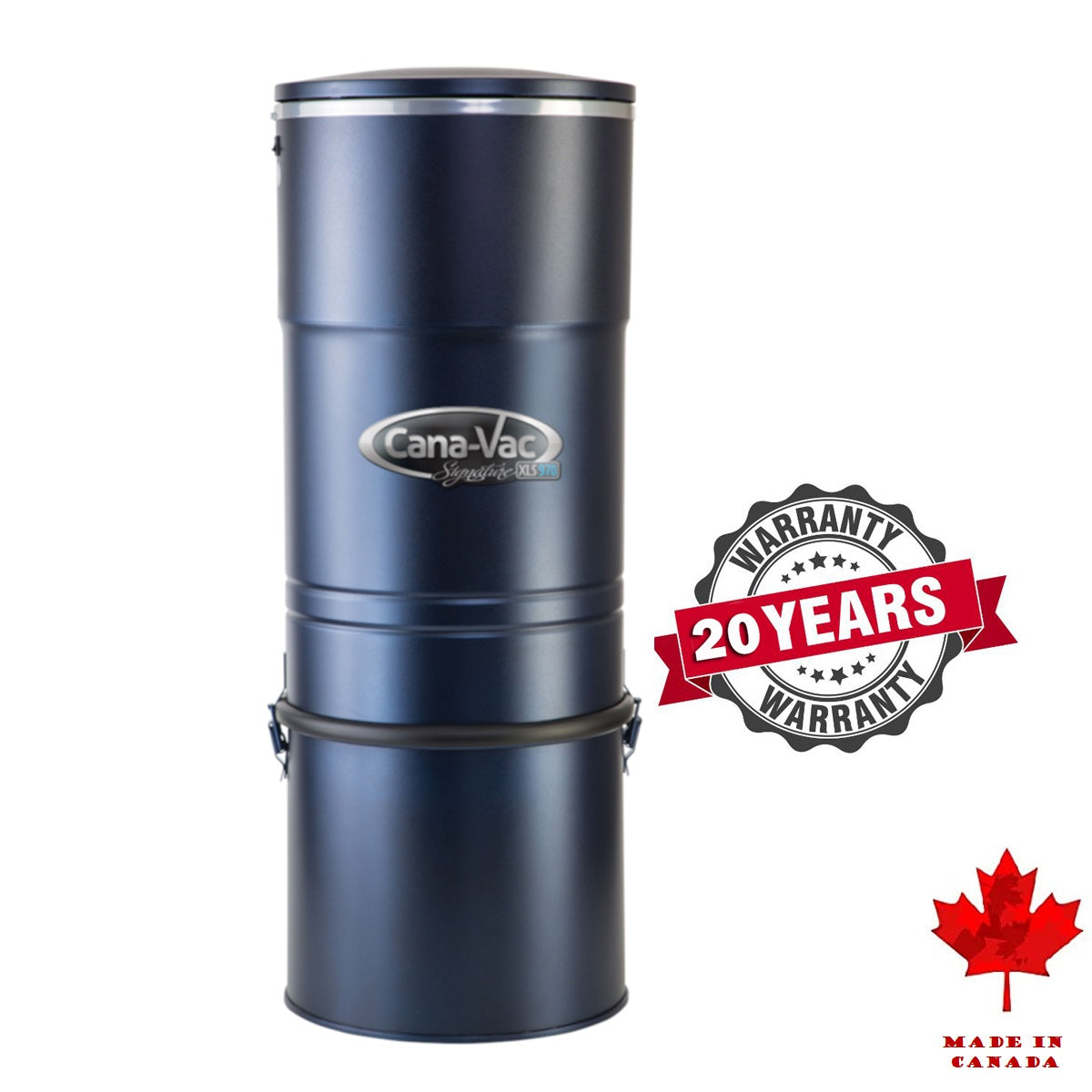 CanaVac Signature XLS990 Canister Only - Central Vacuum Cleaner - Super Vacs