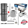 CanaVac Ethos CV700AP Compact Central Vacuum Cleaner With PERFORMANCE Electric Package - 700AW for homes up to 8,000 Sq.F. - Super Vacs