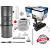 CanaVac Ethos CV700AP Compact Central Vacuum Cleaner With Essentials Electric Package - 700AW for homes up to 8,000 Sq.F. - Super Vacs