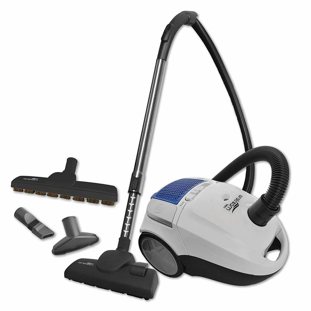 Airstream AS100 Corded Lightweight Canister Vacuum - Super Vacs
