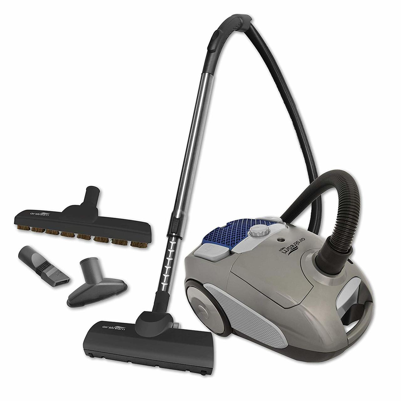Airstream AS200 Corded Lightweight Canister Vacuum with Accessories - Super Vacs