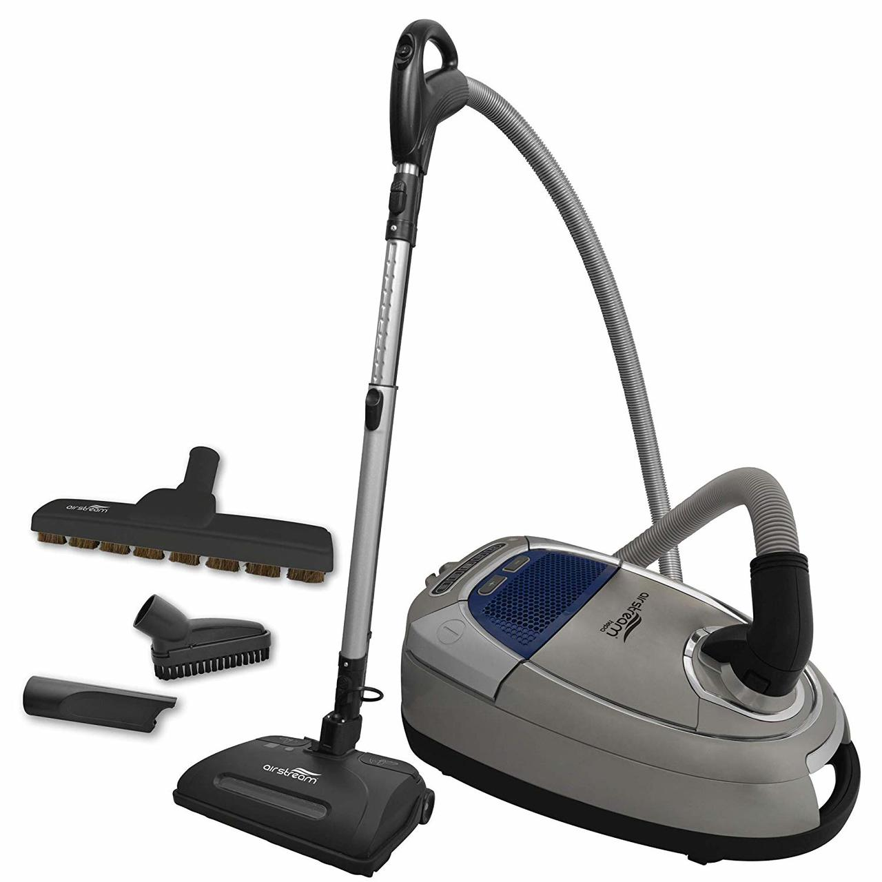 Airstream AS300 Corded Lightweight Canister Vacuum with Electric Accessories - Super Vacs