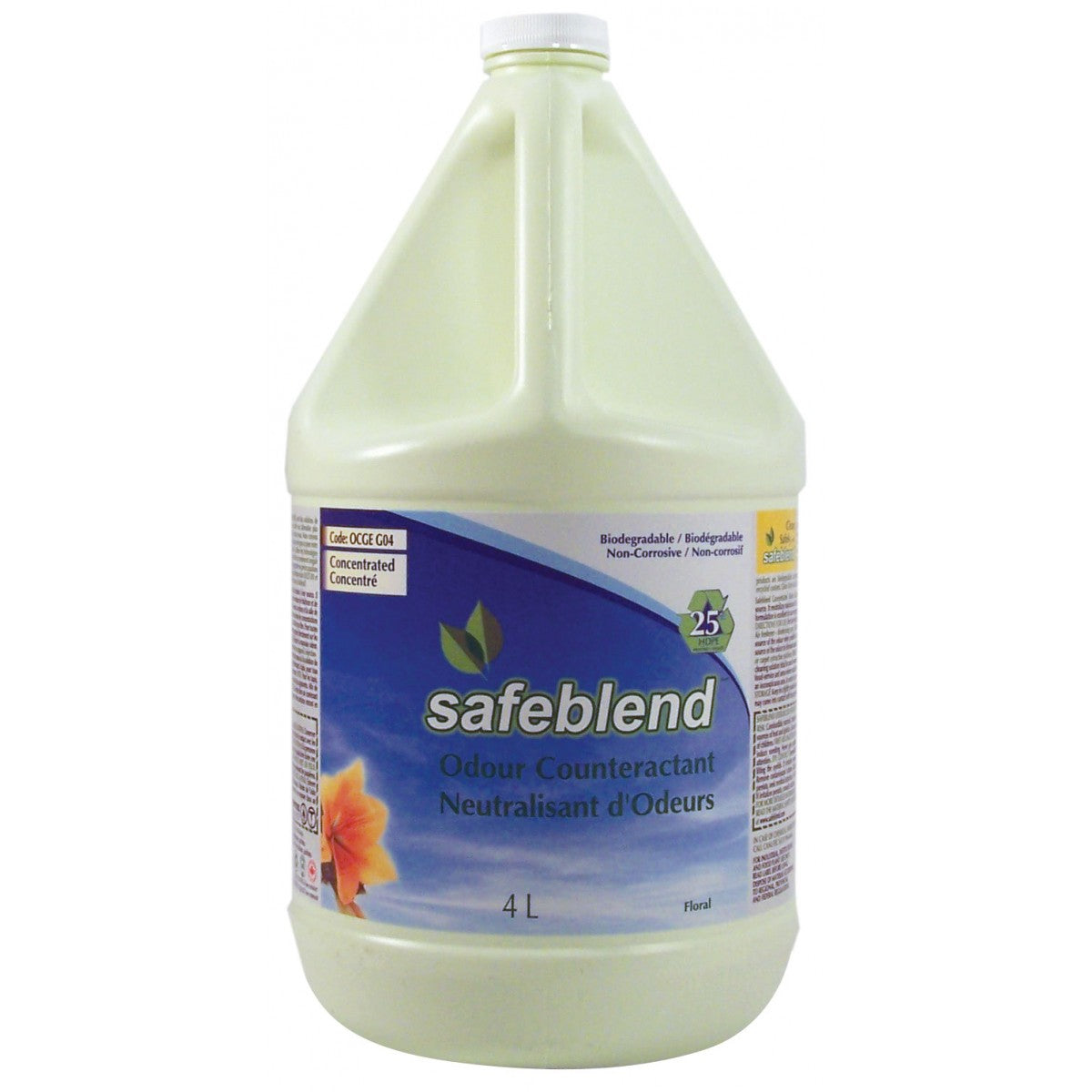 Safeblend Concentrated Odour Counteractant - 4L - Super Vacs