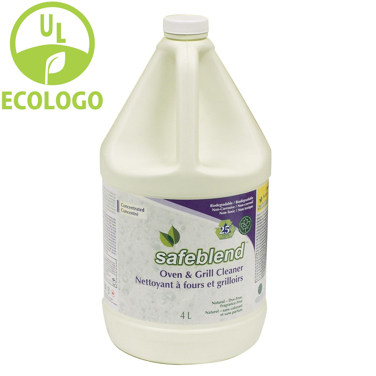 Safeblend EcoLogo Concentrated Oven and Grill Cleaner - 4L - Super Vacs