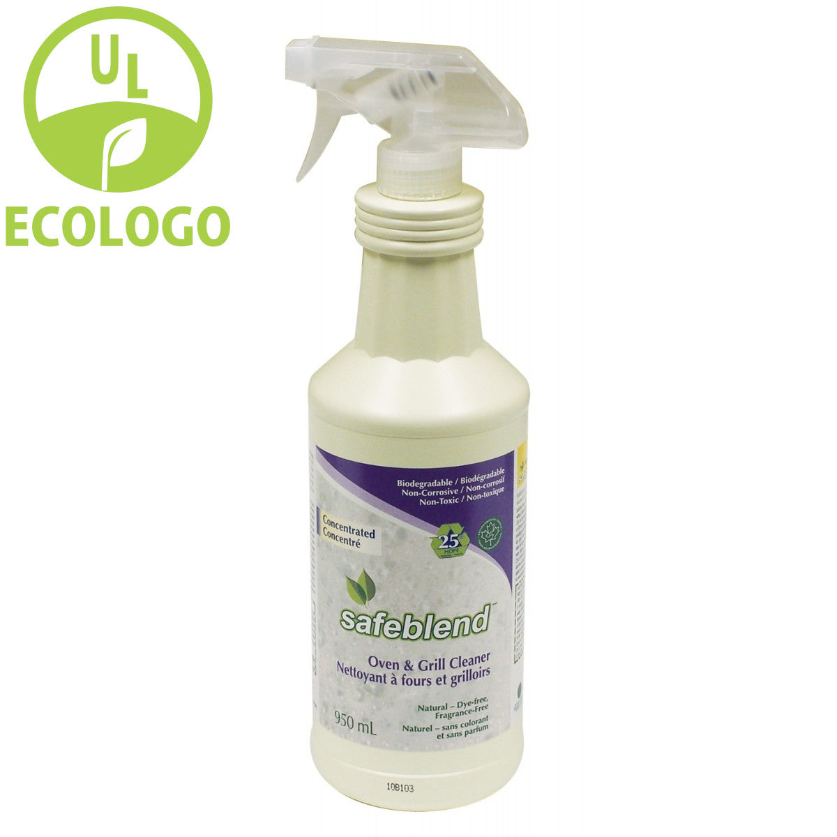 Safeblend EcoLogo Concentrated Oven and Grill Cleaner - 950ml - Super Vacs