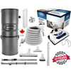 CanaVac Ethos CV700AP Compact Central Vacuum Cleaner With Deluxe Electric Package - 700AW for homes up to 8,000 Sq.F. - Super Vacs