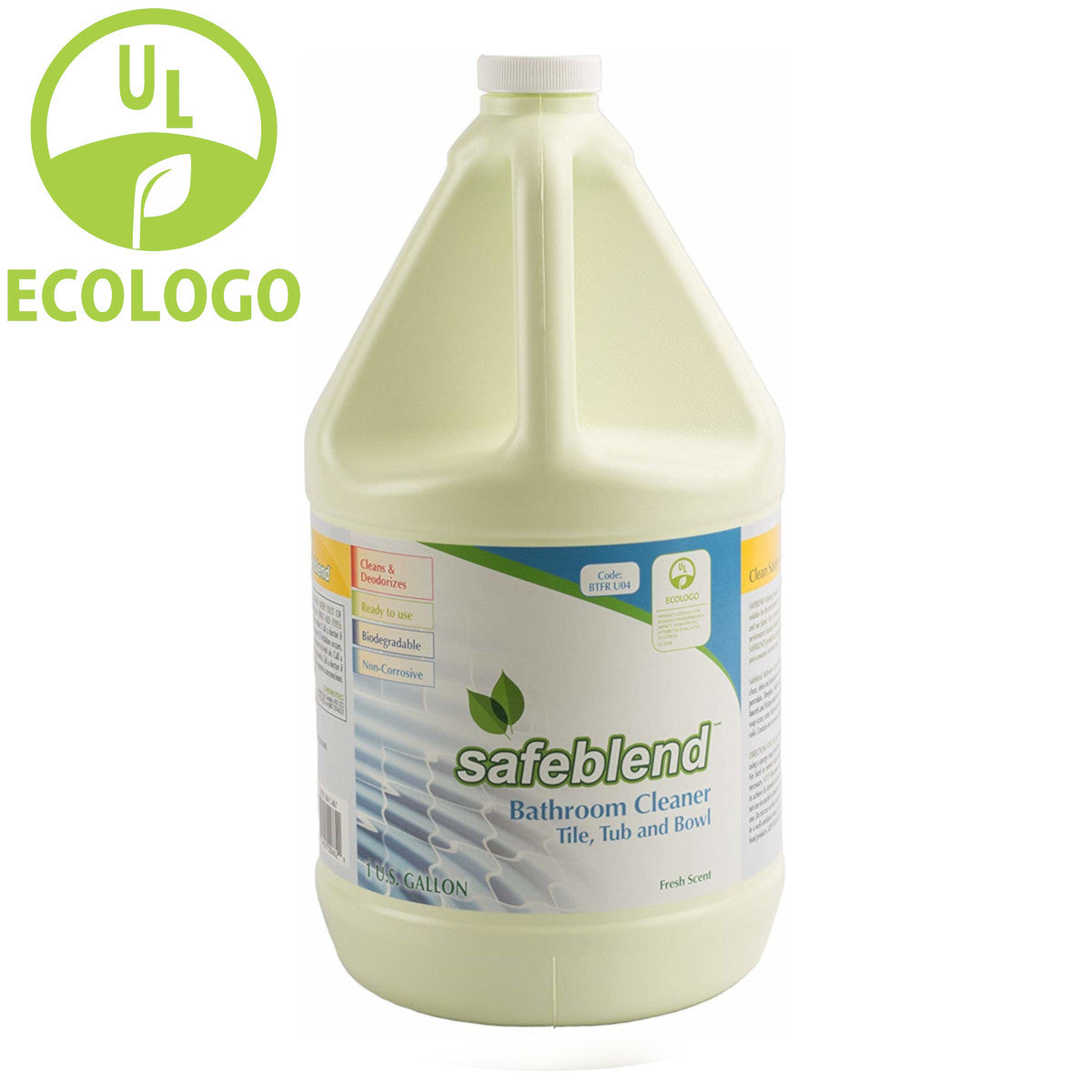 Safeblend Ready to Use EcoLogo Bathroom Cleaner - 4L - Super Vacs
