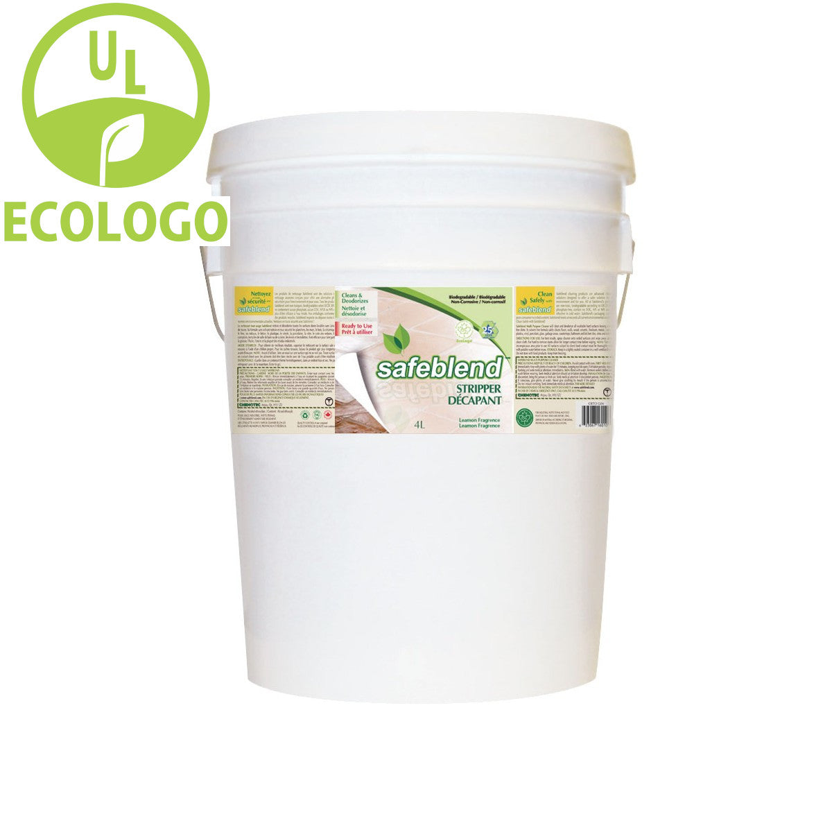 Safeblend EcoLogo Floor Stripper - 20L - Super Vacs