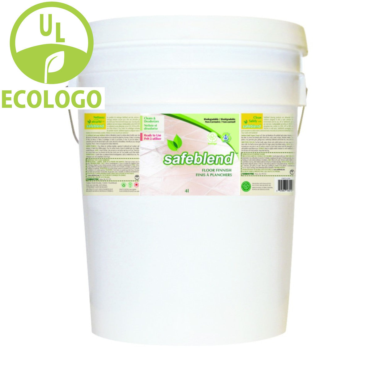 Safeblend FS24 EcoLogo Floor Finish - 20L - Super Vacs