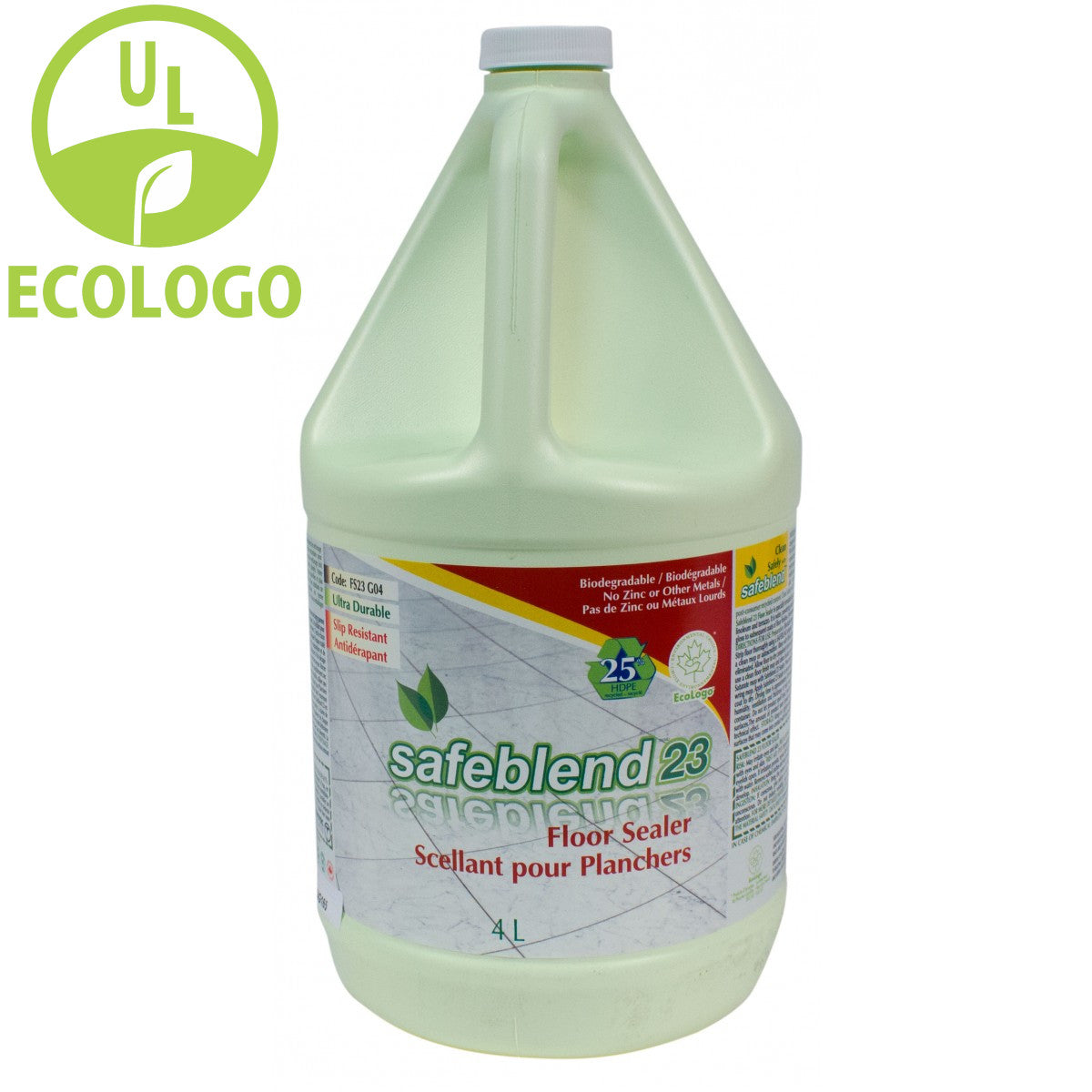 Safeblend 23 EcoLogo Floor Sealer - 4L - Super Vacs