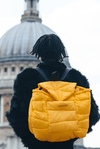 Yellow Puffa Backpack - The New County