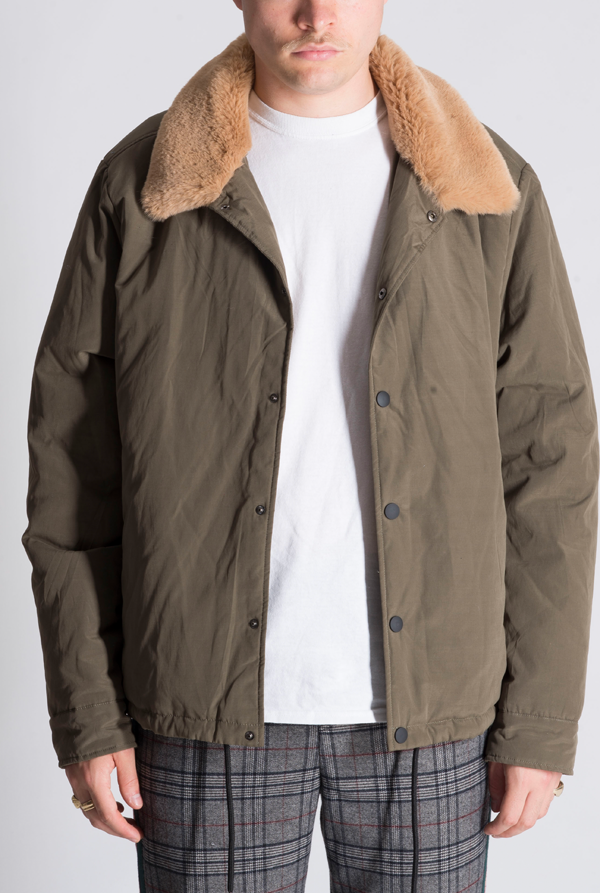 The Oslo Khaki Jacket - The New County
