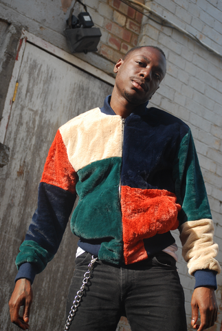 The Geo Patchwork Bomber Jacket - The New County