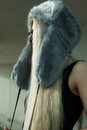 Grey Fur Ear Flap Hat - The New County
