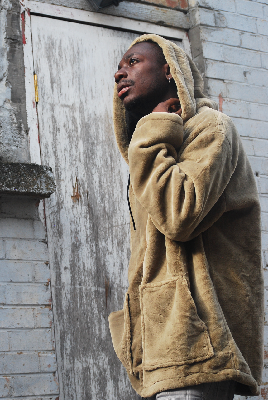 The Benji Olive-Brown Oversized Hoodie - The New County