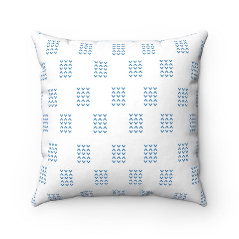 Blue Stripes Pillow Original Design