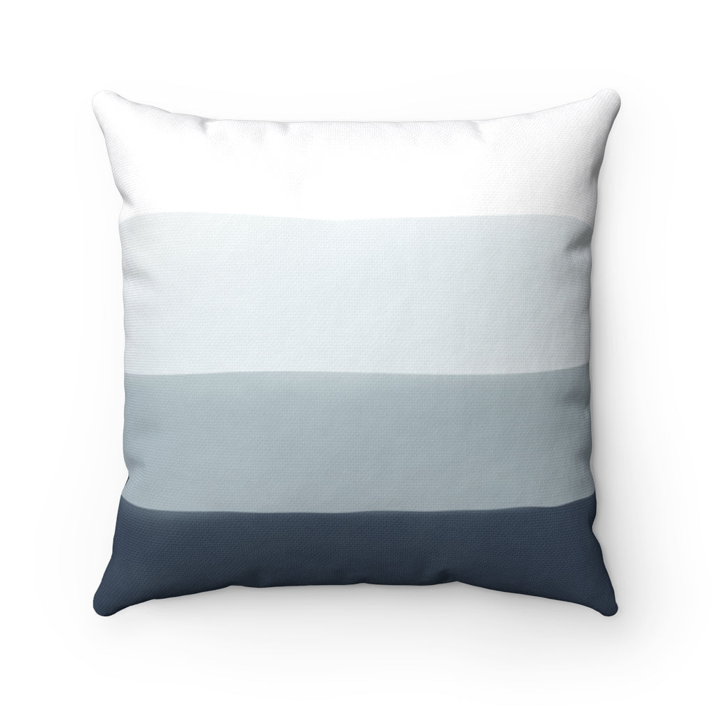 Blue Ombre Pillow Different Sizes Available
