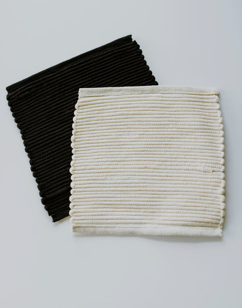 Black and White Pot Holders
