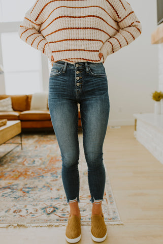 Light Denim Skinny Jeans