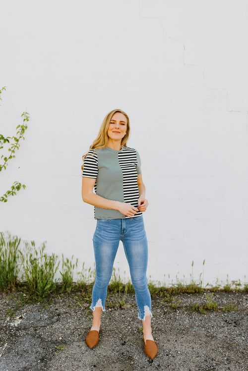 Sienna Striped Top