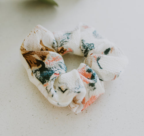 Watercolor Hair Scrunchie