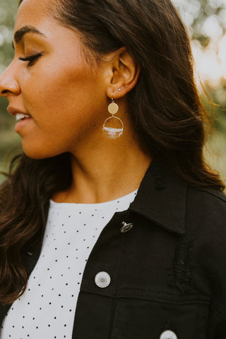 Mini Pearl Beaded Teardrop Earrings
