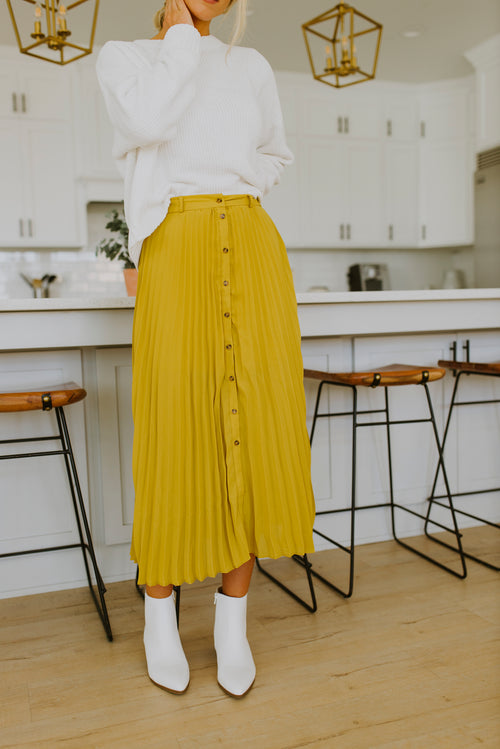 fall outfits pleated skirt, boutique, fall outfits, outfit ideas, pleated skirt outfit, skirt, skirts, midi skirt, outfit ideas, skirts outfits, skirt outfit, Utah Boutique, midi pleated skirt, mustard yellow midi skirt, black pleated midi skirt, mustard pleated midi skirt, fall outfits preppy, preppy, pleated skirt, midi skirt outfit, cute fall outfits, outfits, women's skirt, preppy pleated skirt, modest fashion, women's modest clothing, women's modest clothes online, 2020 trends