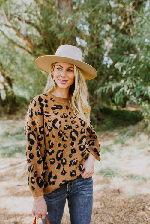 fall outfits leopard print sweater