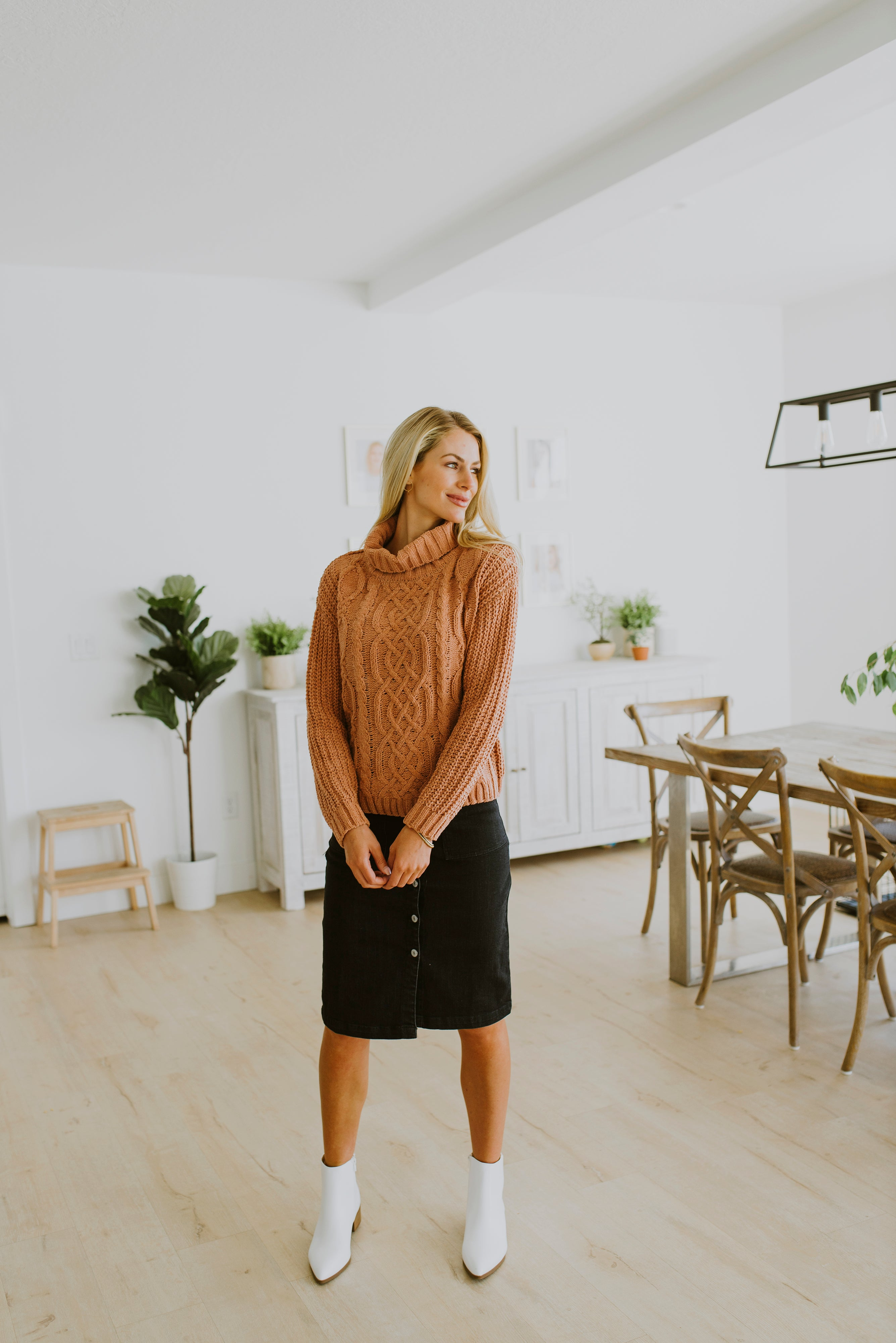 fall outfits 2020 chenille sweater