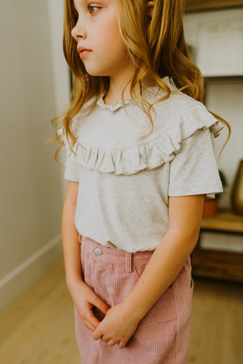 Savannah Ruffle Top (GIRLS)