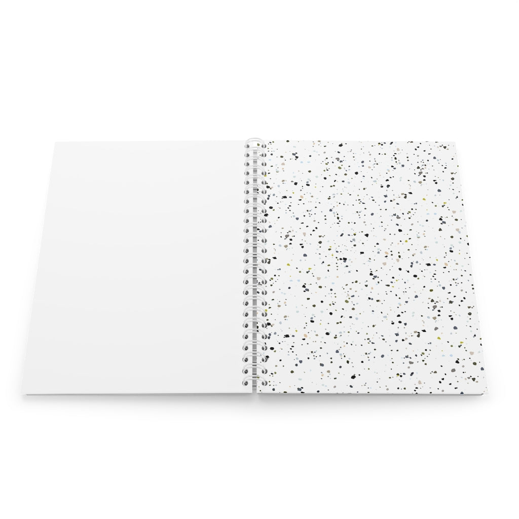 White Terazzo Notebook
