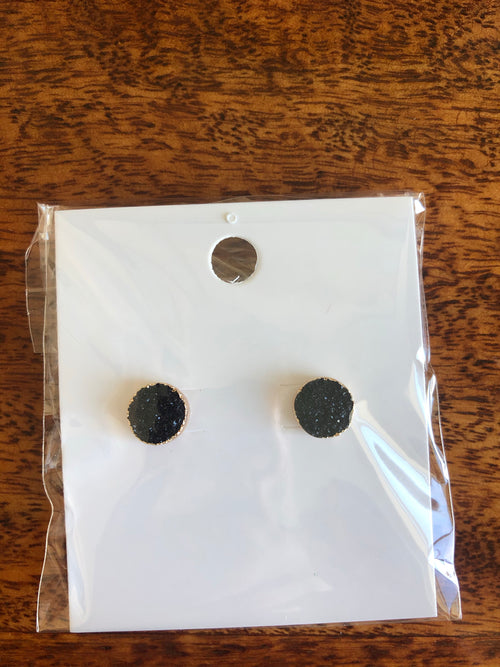 Mini Stone Earring Studs