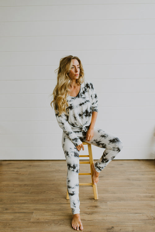 Tie-Dye Lounge Wear Set