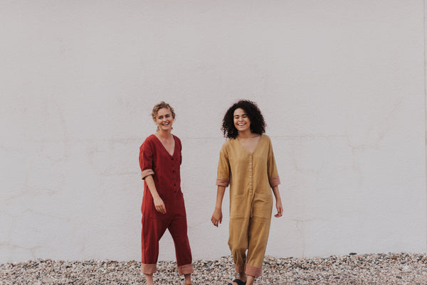 marigold and madder jumpsuits