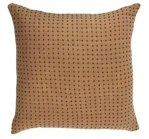 Reversible Pillow Mustard & Himalayan 28x28in
