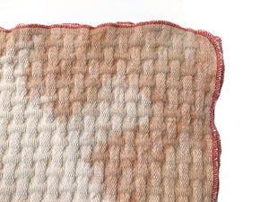 Camel Dreamy Throw - red thread