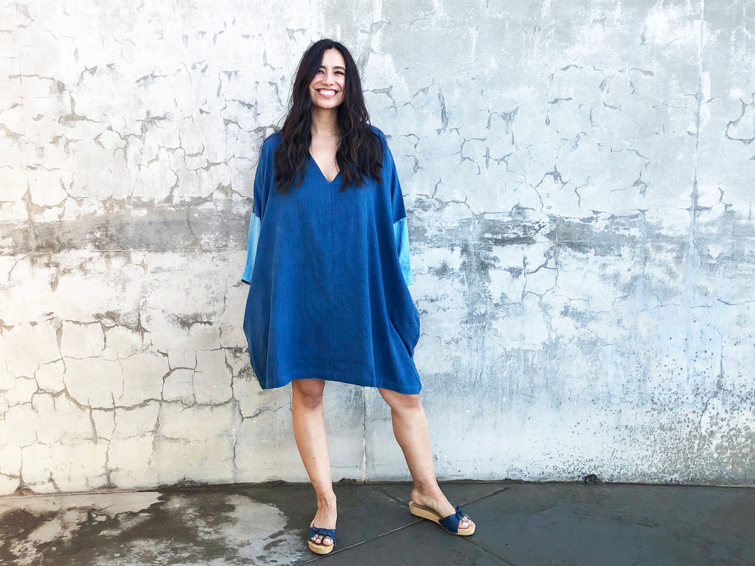 Indigo Dress - 2 colors