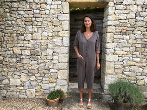 Chocogrey Jumpsuit