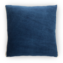 Indigo & White Contour Line Pillow 18x18in