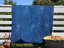 Indigo Dandelion Summer Throw
