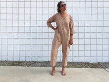Himalayan Textured Jumpsuit